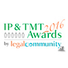 IP & TMT Awards 2016 by Legalcommunity.it